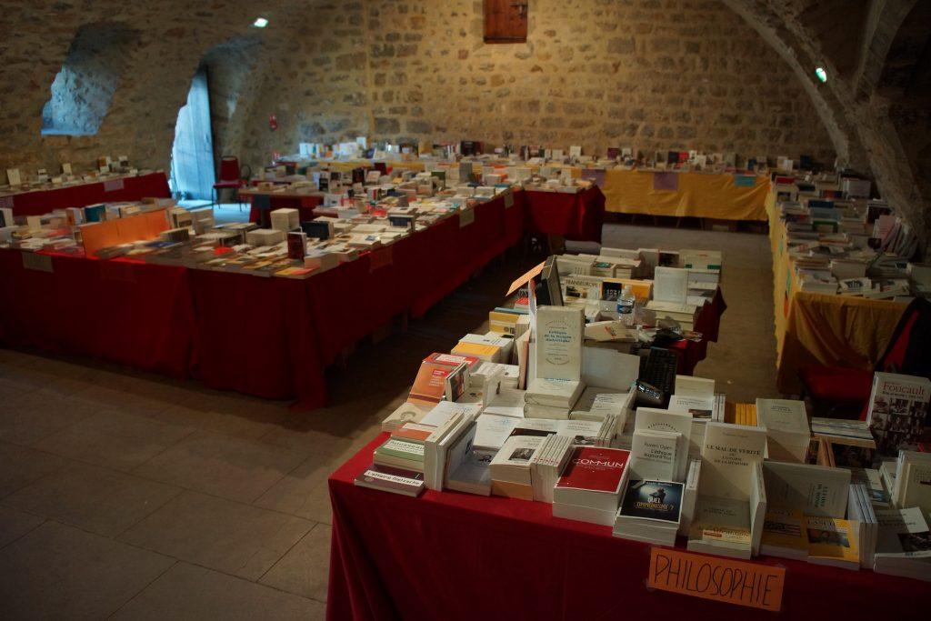 Une des deux librairies éphémères du Banquet