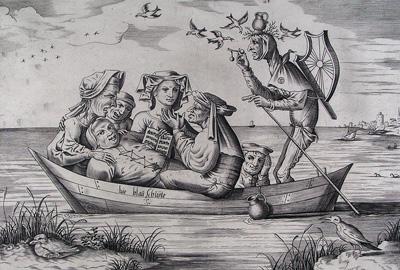 Pieter von Heyden, Die blau Schuyte (1559)